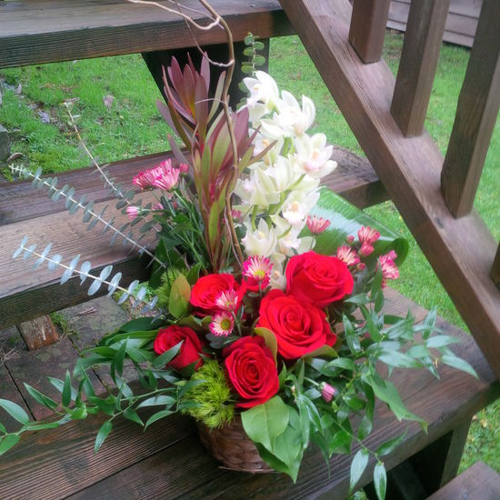 The Floral Revelry Florist - Our basket of Love