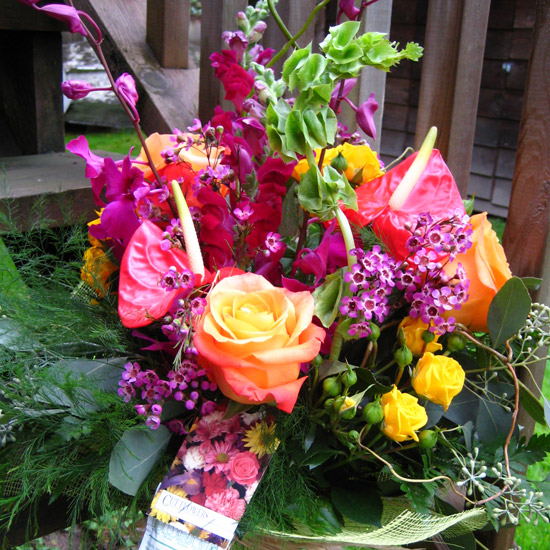 The Floral Revelry Florist - A bouquet with Pizazz