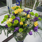 Flower arrangement titled The Thrill of it All