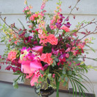 Flower arrangement titled Of Traditional Magnificence