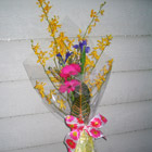 Flower arrangement titled Bouquets with Flair