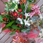 Flower arrangement titled Merry Christmas Darling