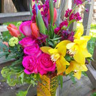 Flower arrangement titled Oh....the brilliance!!!!