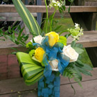 Flower arrangement titled Bouncing Baby Boy