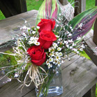Flower arrangement titled I Admire You