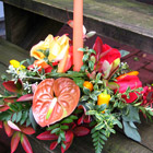Flower arrangement titled Autumn Magnificence