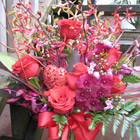 Flower arrangement titled A Traditional Affair