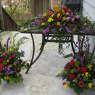 Flower arrangement titled Springtime Tribute