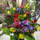 Flower arrangement titled Spring Fever