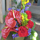 Flower arrangement titled Thinking of You