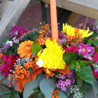 Flower arrangement titled Illuminations