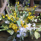 Flower arrangement titled A Tribute to Life