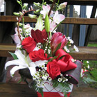 Flower arrangement titled A Lover